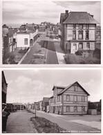 Nordseebad Wittdun Auf Amrum Hauptstrabe 2x German Postcard - Unclassified