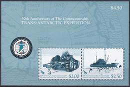 Ross-Gebiet Antarktis Antarctia 2007 Entdecker Commonwealth Expedition Traktor Tractor Schiffe Ships Endeavour, Bl. 2 ** - Sin Clasificación