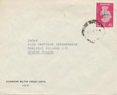 ARGENTINIEN 1958 Intern. Geophysikalisches Jahr 40C M Aufdruck SERVICIO OFFICIAL - Oficiales