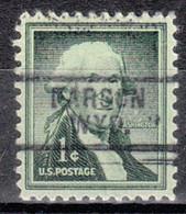 USA Precancel Vorausentwertung Preo, Locals Wyoming, Farson 729 - Voorafgestempeld
