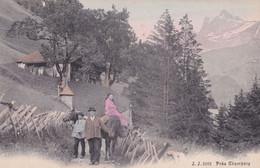 Pres Champery Antique Swiss Switzerland Rare Postcard - Zonder Classificatie