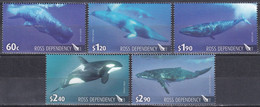 Ross-Gebiet Antarktis Antarctica 2010 Tiere Fauna Animals Wale Whales Pottwal Schwertwal Buckelwal Seiwal, Mi. 119-3 ** - Unclassified