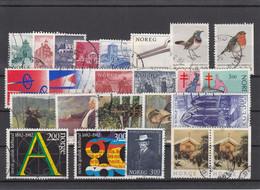 Norway 1982 - Full Year Used Except For The Mini Sheet - Volledig Jaar