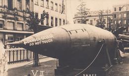 SHAEF London Allied Headquaters Military Plane WW2 Plain Back Postcard Real Photo - Zonder Classificatie