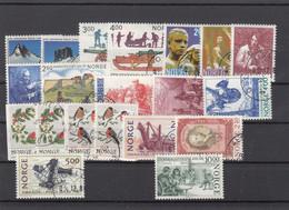 Norway 1985 - Full Year Used Except For The Mini Sheet - Volledig Jaar