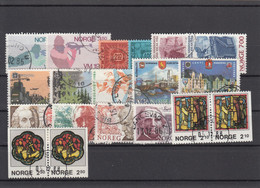 Norway 1986 - Full Year Used Except For The Mini Sheet - Volledig Jaar
