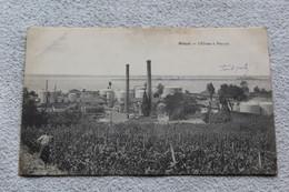 Cpa 1916, Blaye, L'usine à Pétrole, Gironde 33 - Blaye