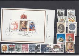 Norway 1988 - Full Year Used - Volledig Jaar