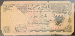 ED0610 - Bahrain 100 Fils Banonte 1964 Damaged - Bahrain