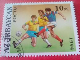 AZERBAÏDJAN - AZERBAYCAN - Timbre 1994 - Sports - Football - Azerbaiján