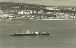 916 PHOTO BATEAU DE COMMERCE DE 1925.  LE TONGARIRO  - CATEGORIE  9878T -  PREFIXE T.S.S - FORMAT C.P.A - Schiffe