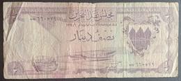 CG0218 - Bahrain 1/2 Dinar Banknote 1964 P.3a - Bahrain