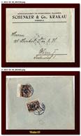 1923 Polska Poland Polen Cover Sent Krakow Cracovia To Austria Brief - Briefe U. Dokumente