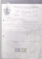 Mechelen LE SEMEUR  S.A. Fabrique De Conserves Alimentaires   1944 - Food
