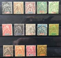 GUADELOUPE 1892 - LOT Entre 27 Et 44 - NEUF Et OBLITERE - Lire Descriptif - CV 117 EUR - Used Stamps