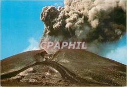 CPM Etna (sicilia) Explosion Dans Le Cratere A Nord Est Avec Cendres Et Lapilli - Sin Clasificación