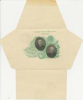 ARGENTINIEN 1900 5C Grün Ungebr. Kab.Lettersheet (Innenseite Grün) Sonderausgabe - Cartas