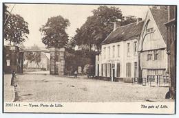 Ieper - Ypres - Porte De Lille - The Gate Of Lille - Ieper