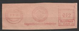 Deutsches Reich Briefstück Mit Freistempel Garmisch Partenkirchen 1939 Olympische Winterspiele 1936 - Poststempel - Freistempel
