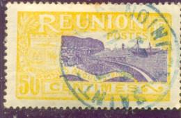 1927 REUNION Y &  T N° 94 ( O ) - Usados
