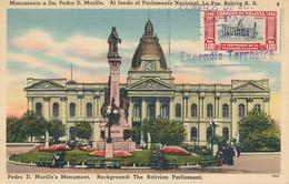 Bolivie - Carte Maximum 98 – Parlement Bolivien - Bolivia