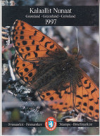 1997 Greenland ** (Sans Charn,MNH, Postfris) YEAR PACK   Yv. 278/293 BF12 Mi. 299/314  Block 12 (16v. + Block) - Komplette Jahrgänge
