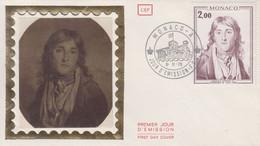 Enveloppe   FDC   1er   Jour   MONACO   Honoré  IV   1976 - FDC