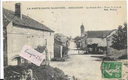 ABELCOURT La Grande Rue - Route De Luxeuil - Andere Gemeenten