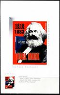 XG0014 Canada 2018 Marx And Communist Manifesto Personalization S/S - Otros