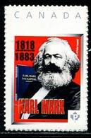 XG0015 Canada 2018 Marx And Communist Manifesto 1V - Otros