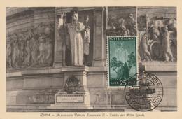 Roma - Monumento Vittorio Emmanuele II - Tomba Des Millite Ignofo - Maximumkaarten