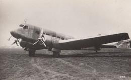 Unidentified WW2 Plane Military Liverpool War 27 Real Photo Aircraft Postcard - 1939-1945: 2de Wereldoorlog