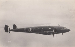 DH 91 Albatross Plane Liverpool Real Photo Aircraft Postcard - 1939-1945: 2de Wereldoorlog