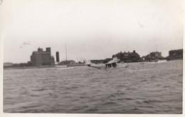 Plane Crash Landing In Water Disaster Real Photo Postcard - Zonder Classificatie