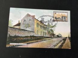 Belgique : Carte De La Ferme Du Caillou Avec Cachet Spécial : Poste Aux Chevaux De Waterloo à Genappe (8/09/2001) - Cartas
