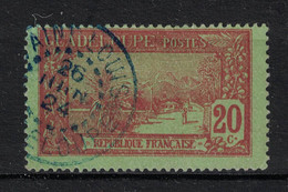 Guadeloupe - Yvert 61 Oblitéré SAINT-LOUIS  En BLEU - Scott#63 - Used Stamps