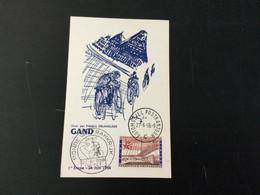 Expo 58 : Carte Souvenir Du Départ Du Tour De France à Bruxelles - Cartas