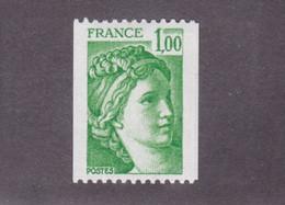 TIMBRE FRANCE N° 1981A NEUF ** - 1977-81 Sabina Di Gandon