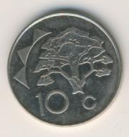 NAMIBIA 1998: 10 Cents, KM 2 - Namibia