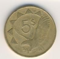 NAMIBIA 1993: 5 Dollars, KM 4 - Namibia