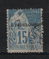 Guadeloupe - Yvert 19 Oblitéré MOULE - Scott#19 - Used Stamps