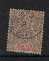 Guadeloupe - Yvert 42 Oblitéré MORNE A L'EAU - Scott#35 - Used Stamps