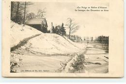 La Neige Au Ballon D'Alsace - La Baraque Des Douaniers En Hiver - Douanes - Other Municipalities
