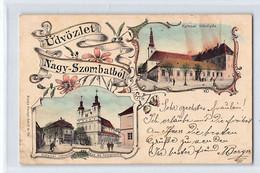 Slovakia - TRNAVA Nagyszombat - Katonai Tébolyda - Katonai Rokkantak Haza és Temploma - POSTCARD IS UNSTICKED - Eslovaquia