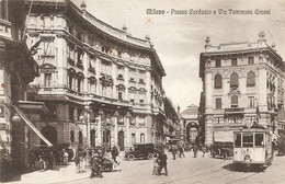 Cpa Milano Piazza Cordusio - Milano (Milan)