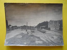 Photo T I V , En Gare De RENNES La TOUCHE, Collection Guittet, Les Débuts De L'exploitation - Eisenbahnen