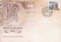 POLOGNE FDC 2002 EGLISE DE PFOCK - FDC