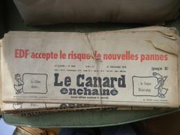 Le Canard Enchaîné - Année 1978 Complète (en Principe) - Política