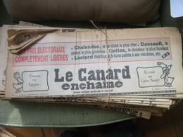 Le Canard Enchaîné - Année 1985 Complète (en Principe) - Política
