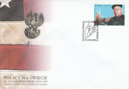 POLOGNE FDC 2004 LUCJAN BOJNOWSKI - FDC